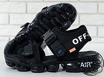 Мужские сандалии Nike Air VaporMax x Off White Sandals Black 850588-001, фото 3