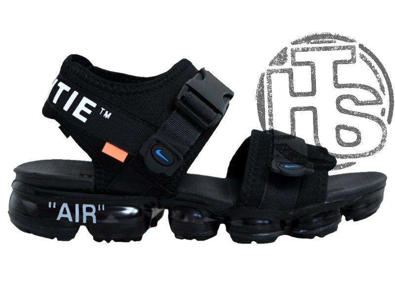 Мужские сандалии Nike Air VaporMax x Off White Sandals Black 850588-001