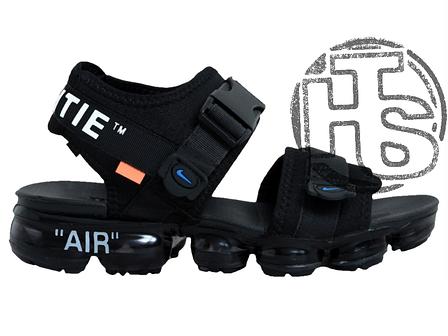 Мужские сандалии Nike Air VaporMax x Off White Sandals Black 850588-001, фото 2