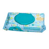 Детские влажные салфетки Pampers Fresh Clean, 64 шт (4015400439110)