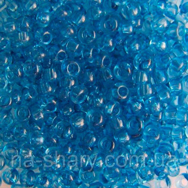 Чешский бисер для рукоделия Preciosa (Прециоза) оригинал 50г 33119-01132-10 Синий