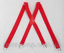 Жіночі червоні підтяжки 2,5 мм