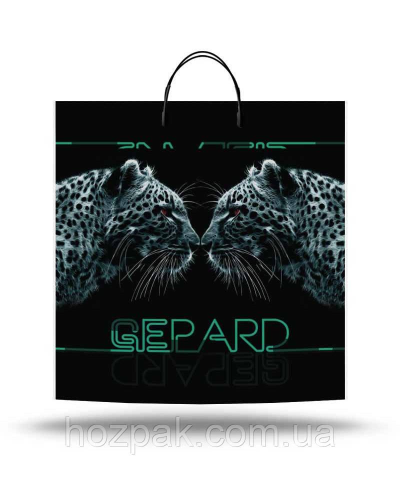 """Пакет с пластиковой ручкой 40х45 10шт. """"Gepard"""""""