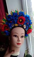 """Кокошник на голову """"Украинский Национальный 6"""", без лент, фото 1"""