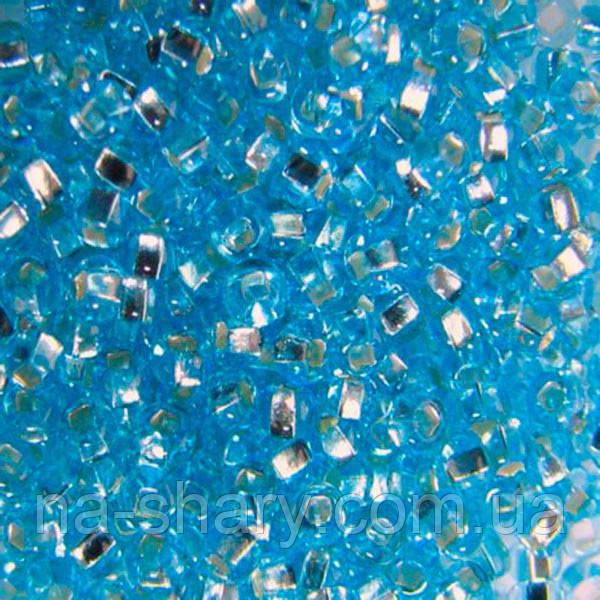 Чешский бисер для рукоделия Preciosa (Прециоза) оригинал 50г 33129-67000-10 Голубой