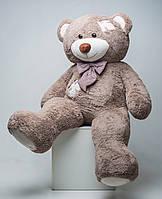 Огромный плюшевый медведь в стиле Тедди с латками 2 метра!