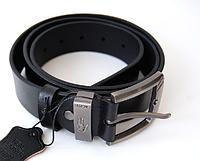Кожаный ремень Lacoste черный