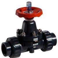 Мембранный клапан муфтовое соединение PVC/PVC/EPDM DN20 (d.25 mm) ESLON