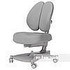 Комплект подростковая парта для школы Amare II Grey + ортопедическое кресло Contento Grey FunDesk , фото 4