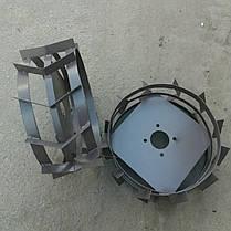 Грунтозацепы к мотоблоку Ø 450 мм из полосы РОД, фото 3