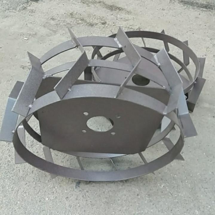 Грунтозацепы к мотоблоку Ø 450 мм из полосы РОД