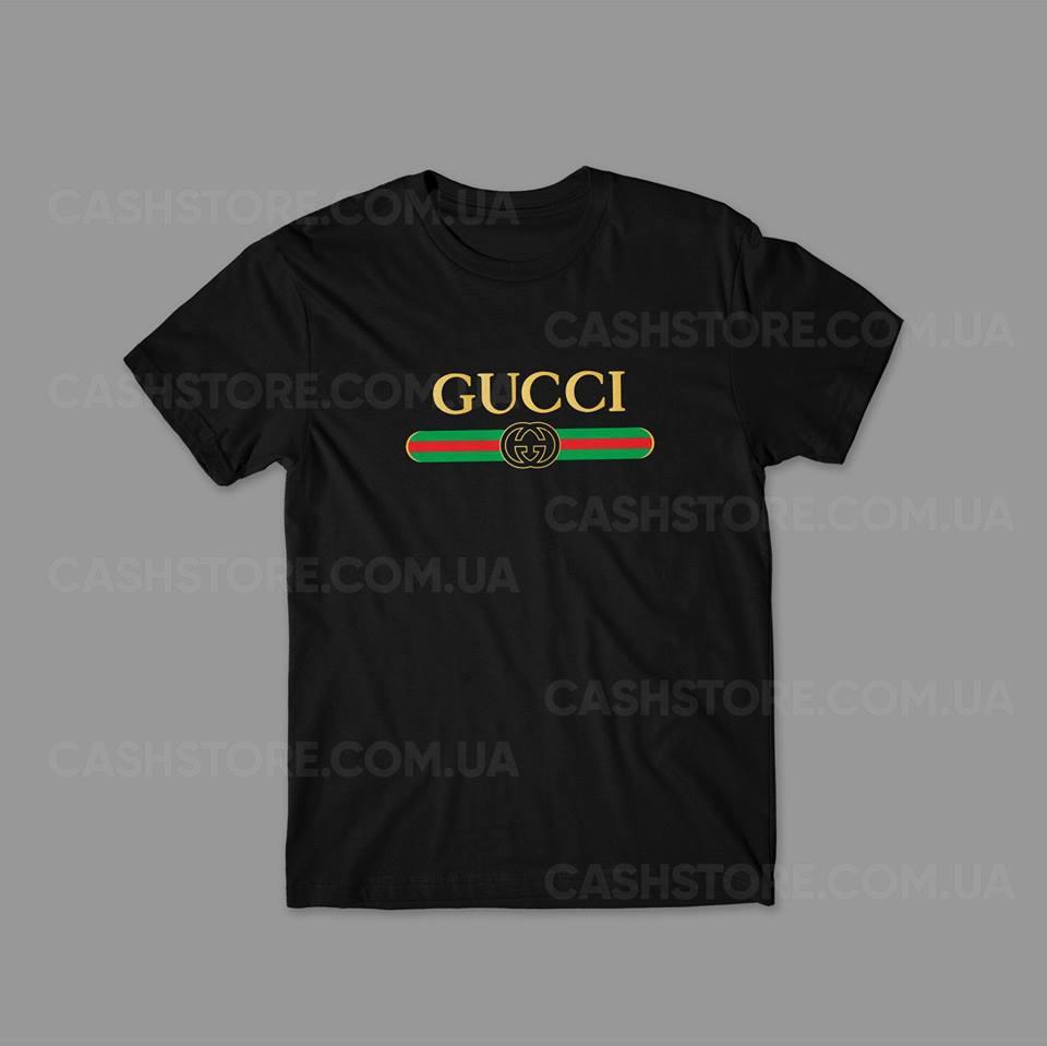 Футболка   Gucci   Гуччи   Мужская   Женская - Интернет-магазин хайповой,  спортивной 34e6c4380fd