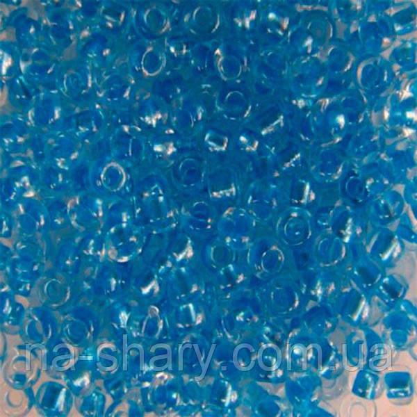 Чешский бисер для рукоделия Preciosa (Прециоза) оригинал 50г 33119-38936-10 Синий