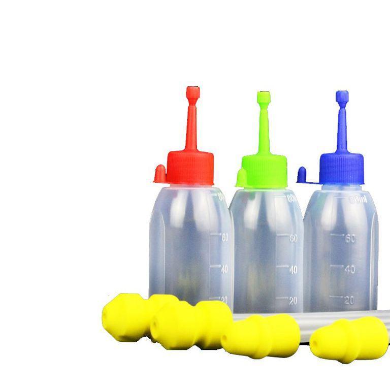 Пляшки для осіменіння свиней + катетер (комплект 10шт.)