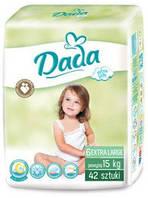 Подгузники Dada Extra Soft 6 (15+ кг) 42 шт.