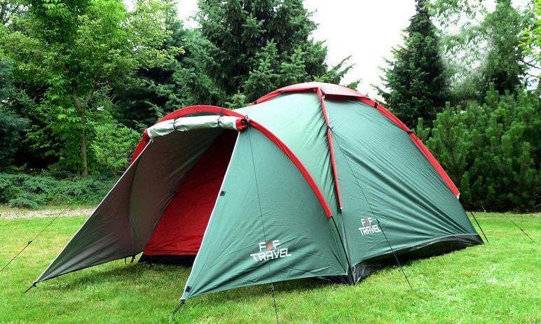 Палатка туристическая трехместная IGLO 3