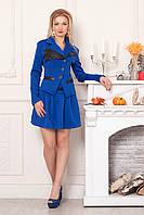 Костюм-двойка пиджак и юбка, фото 1