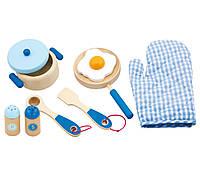 Набор Маленький повар голубой Viga toys (50115)
