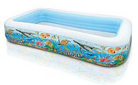 Надувной бассейн Intex Тропический риф 58485
