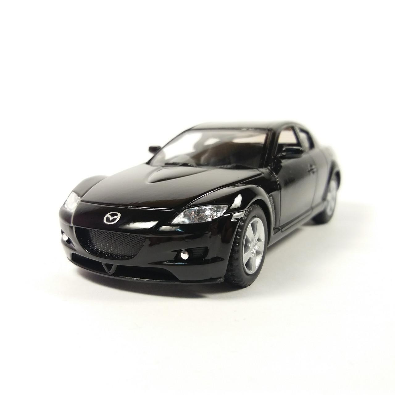 Автомобиль металлический Mazda RX-8 KINSMART черный KT5071W