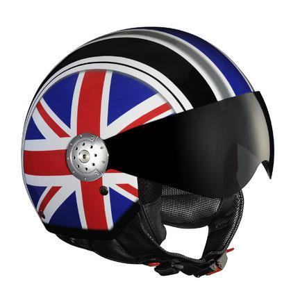 Шлем LAZER RIDER DRAGON FLAG (р.M) черно-сине-красный
