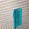 Чехол для 2D сублимации пластиковый Iphone 4/4S голубой