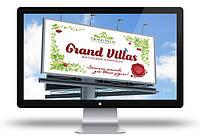 Дизайн наружной рекламы (билборд / бигборд) ЖК Гранд Виллас (Grand Villas) - 2