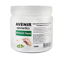 Сахарная паста для шугаринга Avenir 1200 г