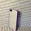 Чехол для 2D сублимации пластиковый Iphone 4/4S фиолетовый