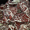 Мраморная галька винно-красная 40-80 мм