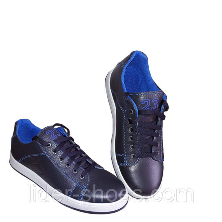 Кроссовки подростковые синего цвета реплика