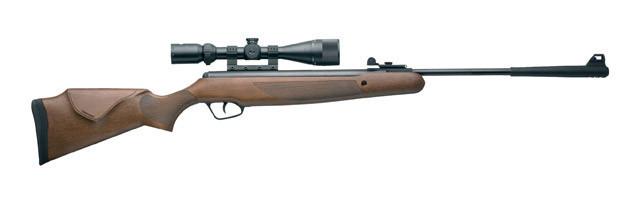 30027 Гвинтівка пневматична Stoeger X50 Wood Stock Combo 4,5мм з прицілом 3-9х40