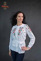 Жіноча вишита блуза Весняний букет