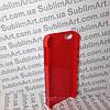 Чехол для 2D сублимации пластиковый Iphone 4/4S красный