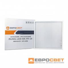 Светодиодный светильник PRISMATIC 36W 6400K LED-SH-595-20