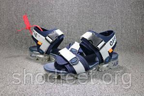 Мужские сандалии Nike Air Vapormax Sandal Blue Grey