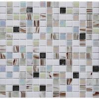 Мозаика с авантюрином для кухни Vivacer GLmix 24 (металл)