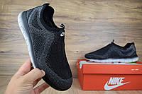 Мужские кроссовки Nike Good Free серые ТОП реплика, фото 1