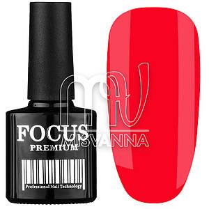 Гель-лак Focus Premium 8 мл №9, неоново-малиновый