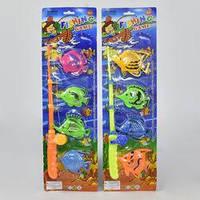 Рыбалка 326-16 (216) магнитная, 4 рыбки, на листе