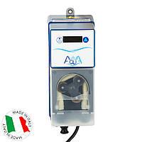 Перистальтический дозирующий насос AquaViva Cl 1,5 л/ч (KXRX) с авто-дозацией, фикс.скор., фото 1