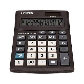Калькулятор Citizen CMB1201-BK настольный, 12р., фото 2