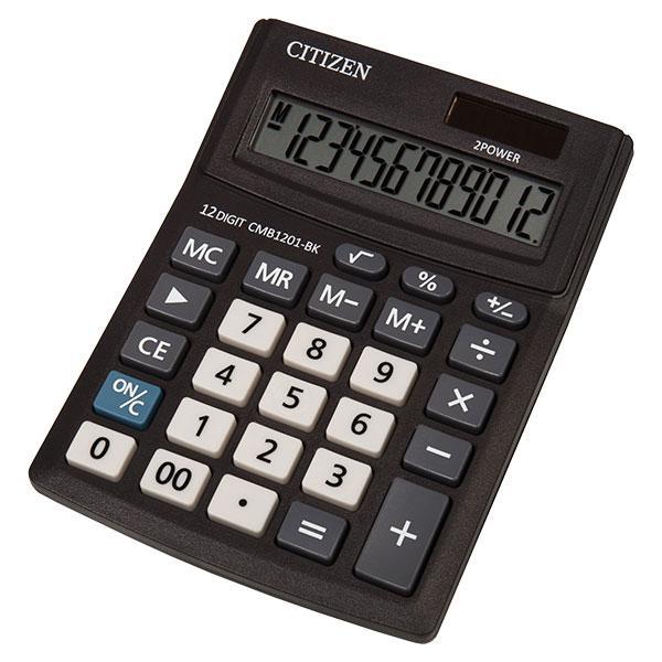 Калькулятор Citizen CMB1201-BK настольный, 12р.