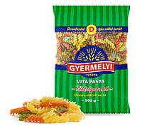 Упаковка макароны  Дурум Gyermelyi Vita Pasta Спираль овощная 16 шт * 500г (5997132559030)
