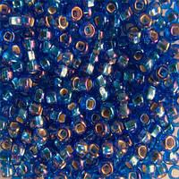 Чешский бисер для рукоделия Preciosa (Прециоза) оригинал 50г 33129-37059-10 Синий