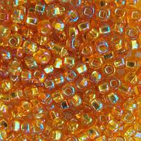 Чешский бисер для рукоделия Preciosa (Прециоза) оригинал 50г 33129-17059-10 Оранжевый