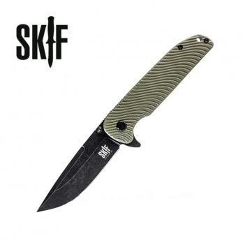 Нож SKIF Bulldog G-10/Black SW ц:green