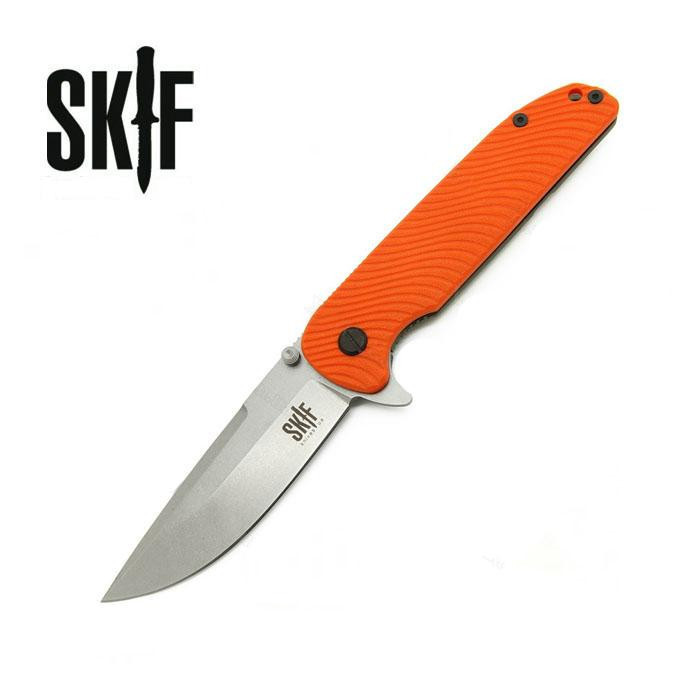 Нож SKIF Bulldog G-10/SW ц:orange