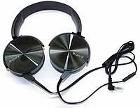 Наушники Sony MDR-XB450AP, проводные наушники Extra Bass