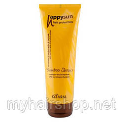 Шампунь для тіла і волосся Kaaral Happy Sun Bamboo Shower 250 мл